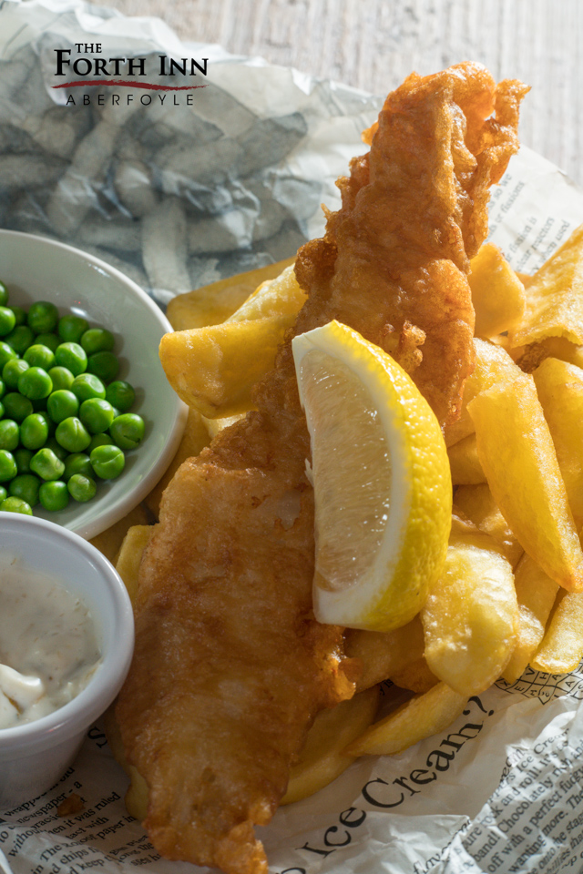 Kids Fish & Chips @ The Forth Inn