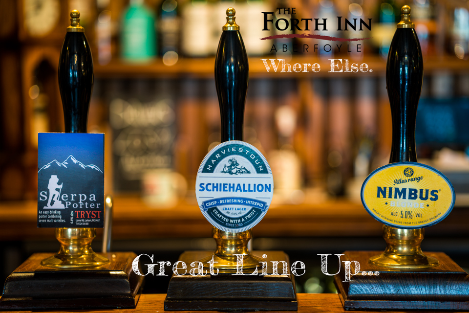 Real Ales @ The Forth Inn