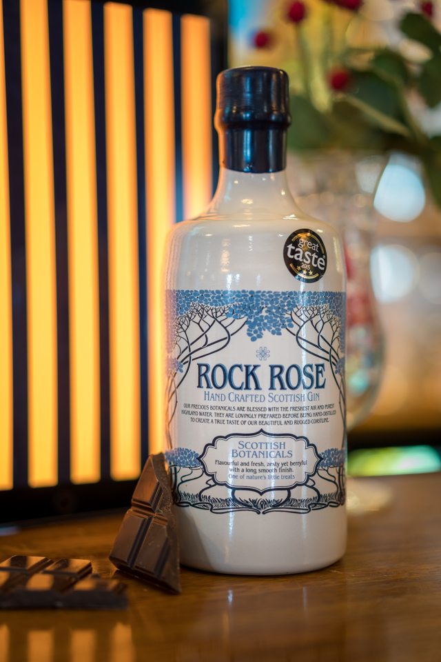 Rock Rose Gin at The Forth Inn