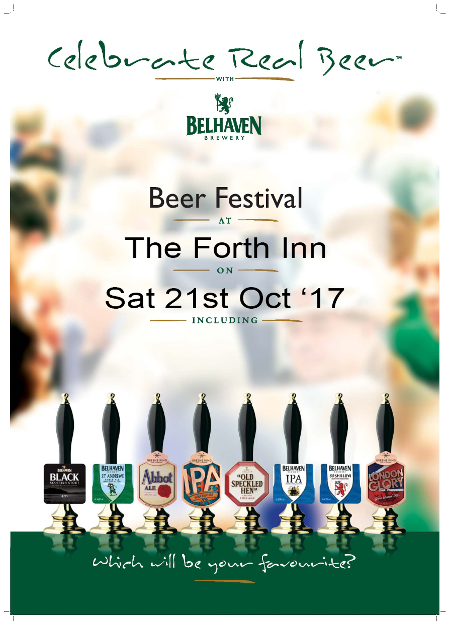 Forth Inn Beer Festival, Aberfoyle 2017