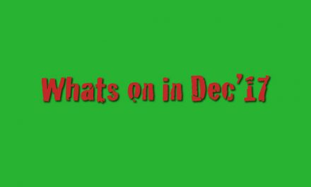 Dec '17 Whats on