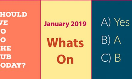 What's on in January 2019