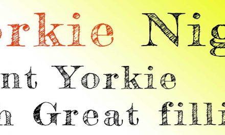 Yorkie Night 19th Jan